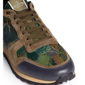 VALENTINO CAMUBUTTERFLY ROCKRUNNER